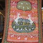 Pletený quilt Els de Boer