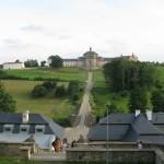 Kuks - barokní hospital a kostel Nejsvětější Trojice
