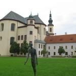Litomyšl a sochy Olbrama Zoubka