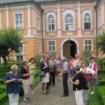 Prohlídka zahrad zámku v Nových Hradech s majitelem zámku